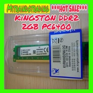 RAM PC KINGSTON DDR2 2GB PC 6400 - sedia ram pc ddr3 8gb ddr2 2gb ddr1 16gb rgb 4gb 8 asus acer aspire 12gb 6gb untuk gaming kantor komputer laptop murah harga promo khusus terbatas