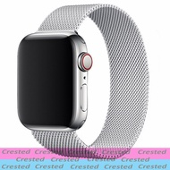 Milanese Loop strap for apple watch band 38mm 40mm Metal mesh belt bracelet iWatch band 42mm Apple watch series 6 5 4 3 SE 44mm