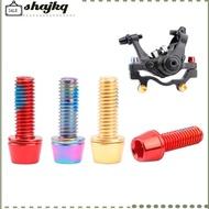 SHA 6pcs M6*18mm M6*20mm Bolt for Disc Brake Caliper Clamp MTB Bike Bicycle Screw Crank Lock Bolts For Road
