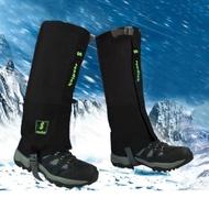 登山綁腿防水褲套附收納袋.戶外雪地健行防沙蟲透氣加厚耐磨保暖防雨褲套護腿腳雪套