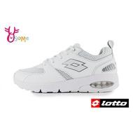 LOTTO樂得 義大利 全白學生鞋 國高中生 男款 綁帶運動鞋 機能鞋 慢跑鞋 M8606#白色◆OSOME奧森鞋業