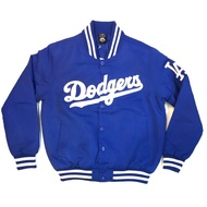 矮子喬丹嚴選 MLB 洛杉磯道奇隊 Los Angela's Dodgers 道奇隊 臂章款 棒球外套 防風外套