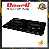 Dowell IC-51TC Double Burner Cooktop Induction Cooker