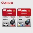 CANON PG-740XL+CL-741XL 原廠墨水匣組(1黑1彩)