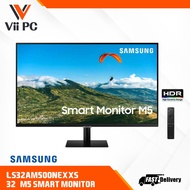 Samsung Smart Monitor S32AM500 32 inch Full HD Smart Monitor with Mobile Connectivity ls32am500nexxs