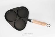 日本鑄鐵烤盤南部鐵器 岩鑄 今川燒烤盤 紅豆餅烤盤3穴 車輪餅 可樂餅