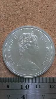 C66--1976年加拿大 紀念銀幣--UNC