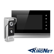 監視器攝影機 - KINGNET 電話總機 門口對講機 7吋觸控螢幕 支援錄影拍照 開門