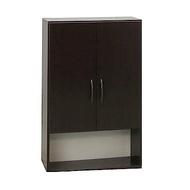 品家居 瑪菲2.1尺環保塑鋼浴室二門收納櫃(三色)-64x21.5x80cm-免組