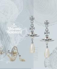 VIVIENNE WESTWOOD PEARL earring 珍珠土星耳環