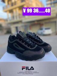 🌙[มาใหม่]รองเท้าแฟชั่นFila disruptor 2 เรืองแสง ขนาด 36-45(EU)รองเท้าหนัง รองเท้าวิ่ง รองเท้าผ้าใบแฟชั่น🌙
