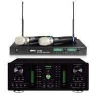 【頂級卡拉OK擴大機.無線麥組合】FNSD A-250+MIPRO ACT-880(250W數位迴音卡拉OK擴大機+最好唱麥克風)