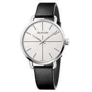 【Calvin Klein】CK超然系列皮帶腕錶36mm(K7B231CY)