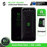 Global Version Xiaomi สีดำ SHARK 1 64GB ROM 6GB RAM GAMING (ยี่ห้อใหม่/ซีล) blackshark1, blackshark โทรศัพท์มือถือสมาร์ทโฟน