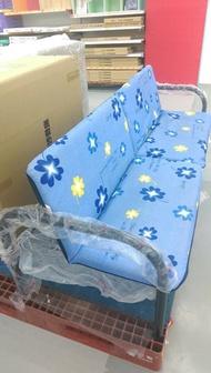 免運 鋼管摺疊沙發床~折疊床 坐臥兩用床 鋼管沙發椅《八八八e網購