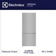 Electrolux ตู้เย็นช่องแช่แข็งอยู่ด้านล่างรุ่น EBE4500B-A  ความจุ 14.8 คิว NutriFresh® ระบบอินเวอร์เตอร์