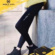 《現貨售完不再補貨》MOLY ViVi 魔力夜光褲 遠紅外紗線 全新升級微膠囊 舒適全面微壓褲