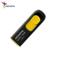 ADATA 威剛 UV128 USB3.2 伸縮USB接頭 高速隨身碟 黃色款 32G 64G