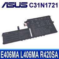 ASUS C31N1721 3芯 原廠電池 E406MA E406SA L406MA L406SA R420SA