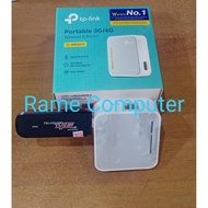 INTERNET PACKAGE 3G / 4GB WIFI TP-LINK ROUTER TL-MR3020 + 3G MODEM HUAWEI K3765 / 4G BLAZZ RX300