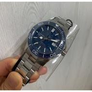 Christopher Ward C60 Trident Pro 600 藍色陶瓷圈