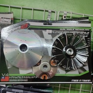 RS8 Pulley set V4 for Aerox Nmax M3 Mio sporty