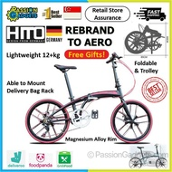 Hito Aero X4 Foldable Bike Folding Bicycle 7 Speed Shimano 22inches
