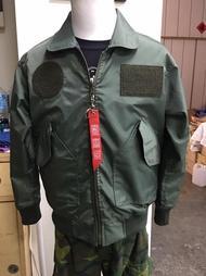 嘎嘎屋 台灣製 空軍 飛行夾克 36P 飛夾 雙面穿 防風 綠色 內迷彩 G-36P-N2 大人