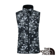 【The North Face】女 ThermoBall暖魔球保暖背心M灰迷彩