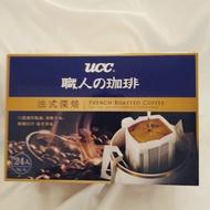 UCC 職人 濾掛咖啡 法式深焙 8克*24入