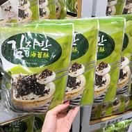 海苔 韓味不二海苔酥 80公克 X 4袋 海苔芝麻 飯糰 點心  好市多 COSTCO