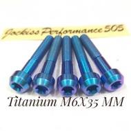 M6X35 MM Titanium Bolts