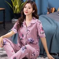 sleepwear pajama sleepwear for women sleepwear terno plus size pajama loungewear sleeping clothes睡衣