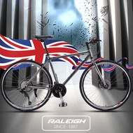 RALEIGH British variable speed road bike male and female double disc brake adult light off road racing car