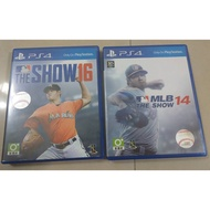 PS4 MLB 14 MLB 16 The show 二手