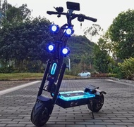 Brand New FLJ7000W E Scooter with Dual engine 72V Electric scooter