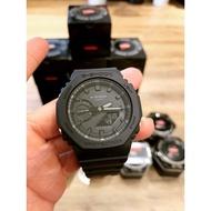免運   Casio G-Shock GA-2100-1A1 手錶 200米 防水 碳纖維 超薄 雙顯 AP 皇家橡樹
