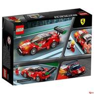 【晶晶の賣場】樂高賽車系列法拉利 488 GT3 Scuderia Corsa車隊75886積木玩具