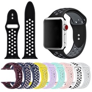 โปรโมชั่น พร้อมส่ง สาย  Watch ซิลิโคน Sport nike42/44mm ราคาถูก สายนาฬิกา applewatch
