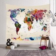 掛毯 世界地圖掛毯 現貨 非正式地圖