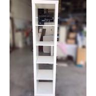 大慶二手家具 Ikea白色五層置物架/吊衣櫃/收納櫃/掛衣櫃/儲藏櫃/置物櫃