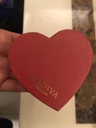 ♥️ GODIVA 巧克力愛心♥️《空盒》