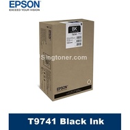 [Original] Epson T974 XXL Black 86,000 Pages Ink Tank For WF-C869R Printer 9741 C13T974100