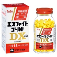 SS製藥 【第3類醫藥品】ES戰鬥黃金DX 270錠