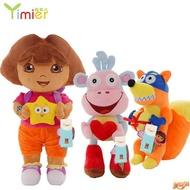 朵拉毛絨玩具朵拉公仔布娃娃 dora毛絨玩偶送兒童生日禮物送女孩多色多尺寸 ✔美滋滋✔