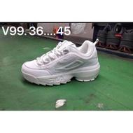 รองเท้าแฟชั่น 🔥พร้อมส่ง รองเท้าผ้าใบFILA sz. 36-45 รองเท้าวิ่ง รองเท้าออกกำลังกาย รองเท้าแฟชั่น รองเท้าลำลอง