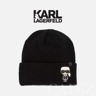 預購 法國真品 Karl Lagerfeld Ikonik Choupette Beanie 黑色Q版羊毛帽 86KW3410