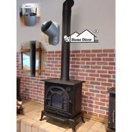 愛丁堡鑄鐵壁爐 燃木取暖 暖爐 鑄鐵爐 (含基本管件)