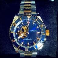 美國潮牌ORSGA機械錶三色 掛轉盤 +送對戒❗️