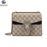 Gucci Lady Dionysus Dionysus Series Beige Canvas Bag Bag Ruler Village 20 * 15 * 5cm